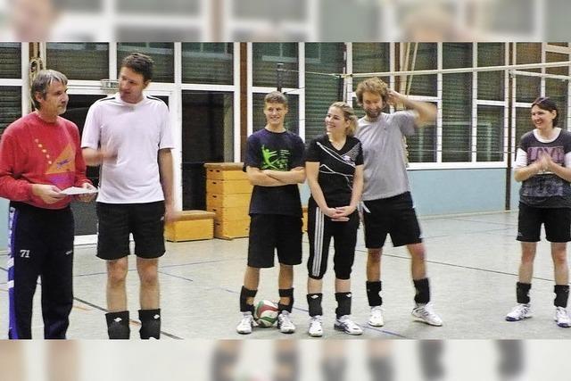 Volleyballturnier für einen guten Zweck