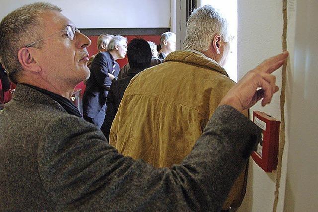 Risse: Oberried hilft Staufen