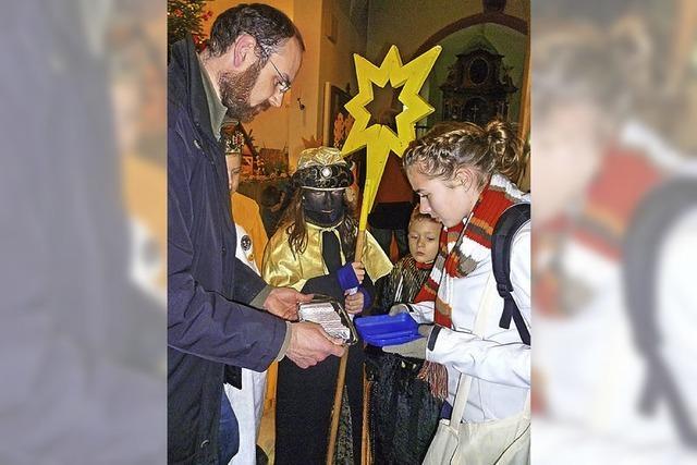 Sternsinger sammeln mehr als 38 000 Euro