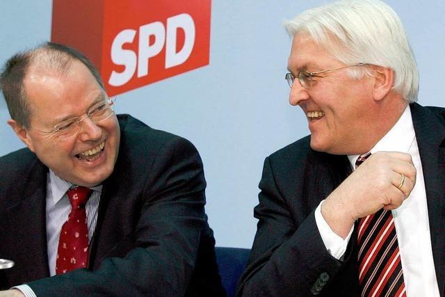 Steinmeier über Steinbrück: