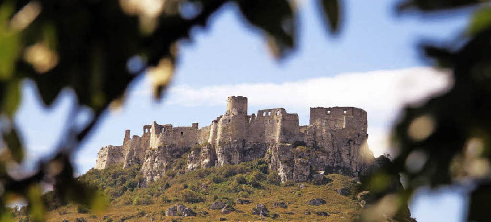 Eindrucksvolles Bauwerk: die Zipser Burg   | Foto: Christian Schreiber