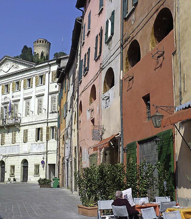 Schmucke Altstadt: Das Zentrum von Brisighella  | Foto: Rolf Müller