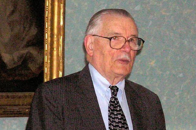Nobelpreisträger James M. Buchanan ist tot