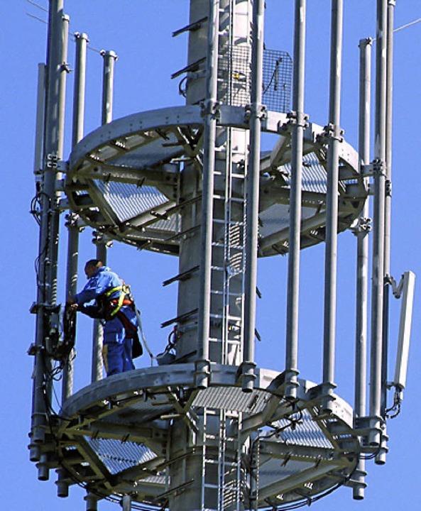 Die Auswirkungen der Strahlungen vom S... Riesenbühl beschäftigen viele Bürger.  | Foto: Archivfoto: Adam