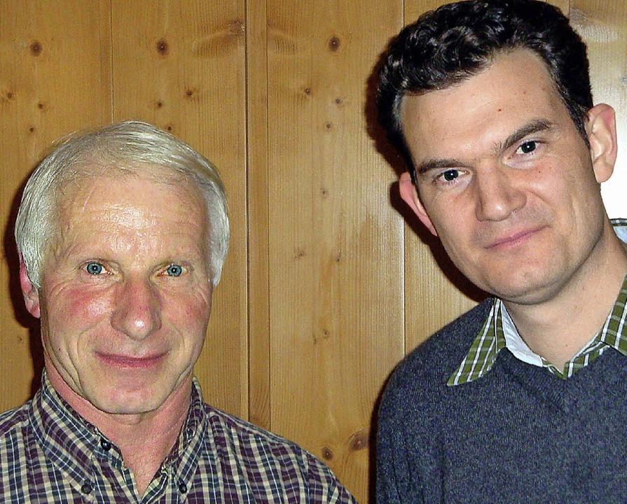 Nach 44 Jahren bei der Firma Klapper v...iter Hans Hasenkopf in den Ruhestand.     Foto: Klapper