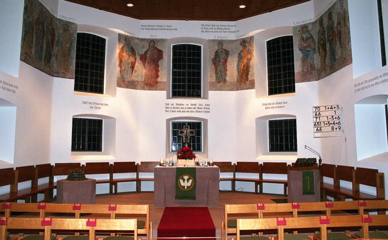 Nach ihrer Sanierung erstrahlt die Wintersweiler Kirche in neuem Glanz.    Foto: cremer