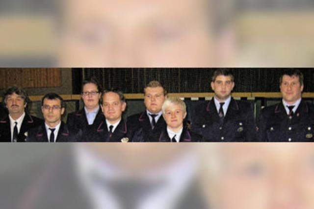 Mit 17 Einsätzen war die Stadtteil-Feuerwehr gut beschäftigt
