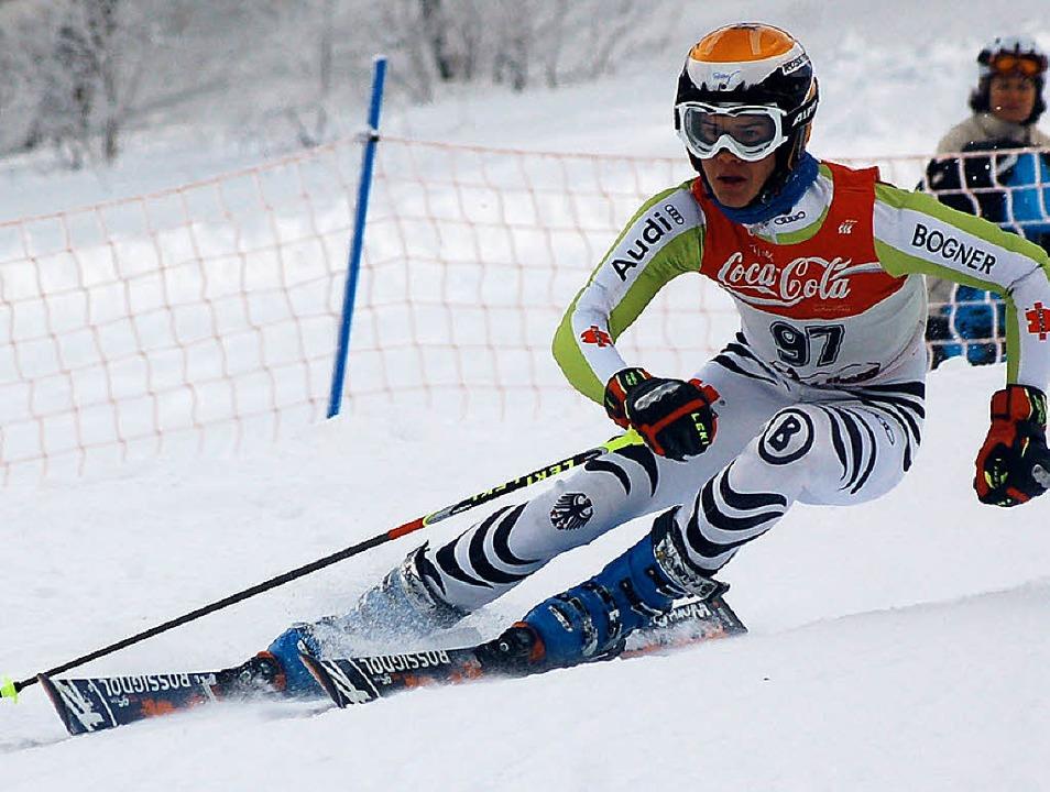 Tobias Baur zählt bei der alpinen Land...m Tannheimer Tal zu den Topfavoriten.     Foto: Junkel