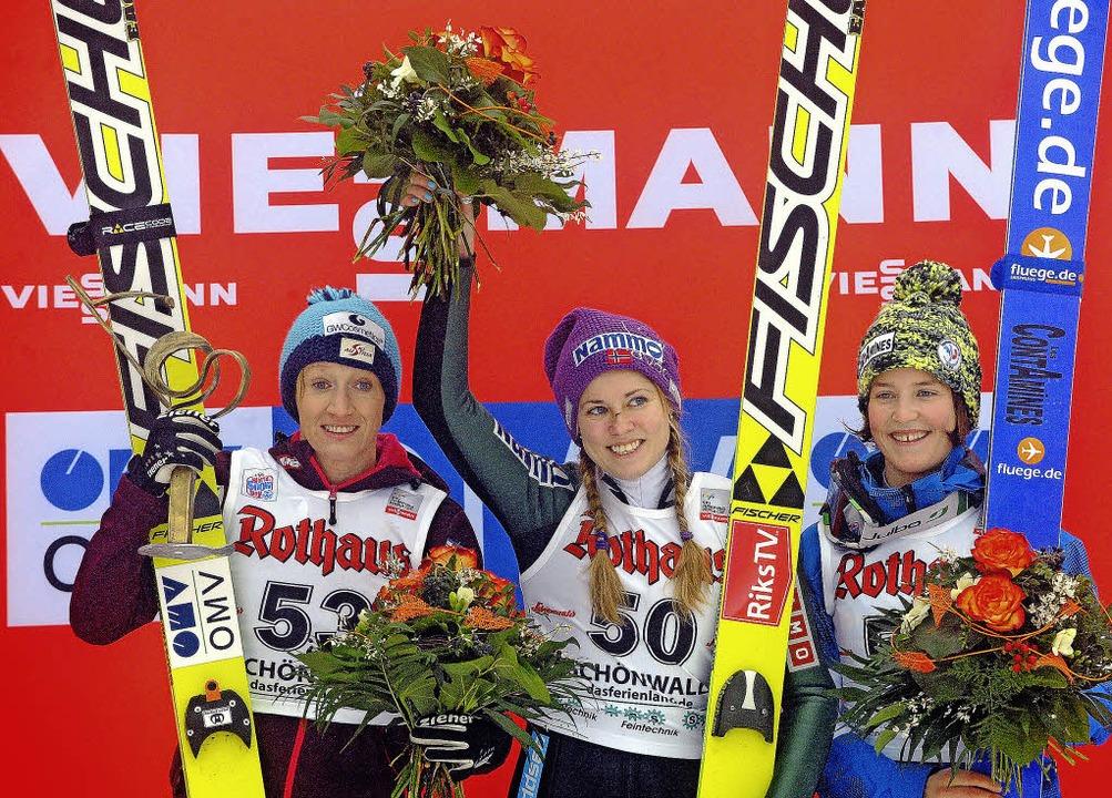 Drei Kandidatinnen für den Sieg in Hin...im Hochschwarzwald wiederholen könnte.    Foto: seeger/DPA
