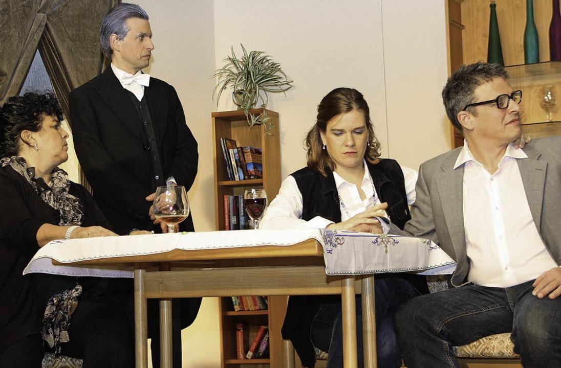 Bei den Grafen von  Vogelsberg geht es...Komödie rund um die Adelsfamilie auf.     Foto: Silvia Faller