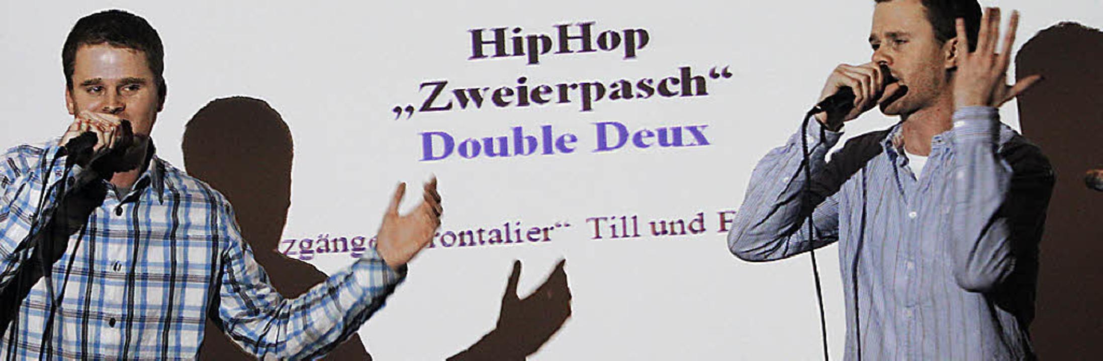 Rap-Duo Zweierpasch  | Foto: Patrik Müller
