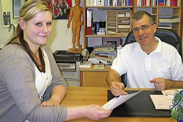 Ausbildungsberuf medizinische Fachangestellte: Die Aufgaben für Larissa Philipp haben sich verändert