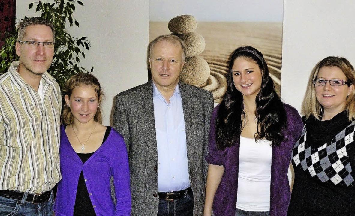Für ein Jahr lebt bei Familie Maier in Teningen  | Foto: Roland Gutjahr