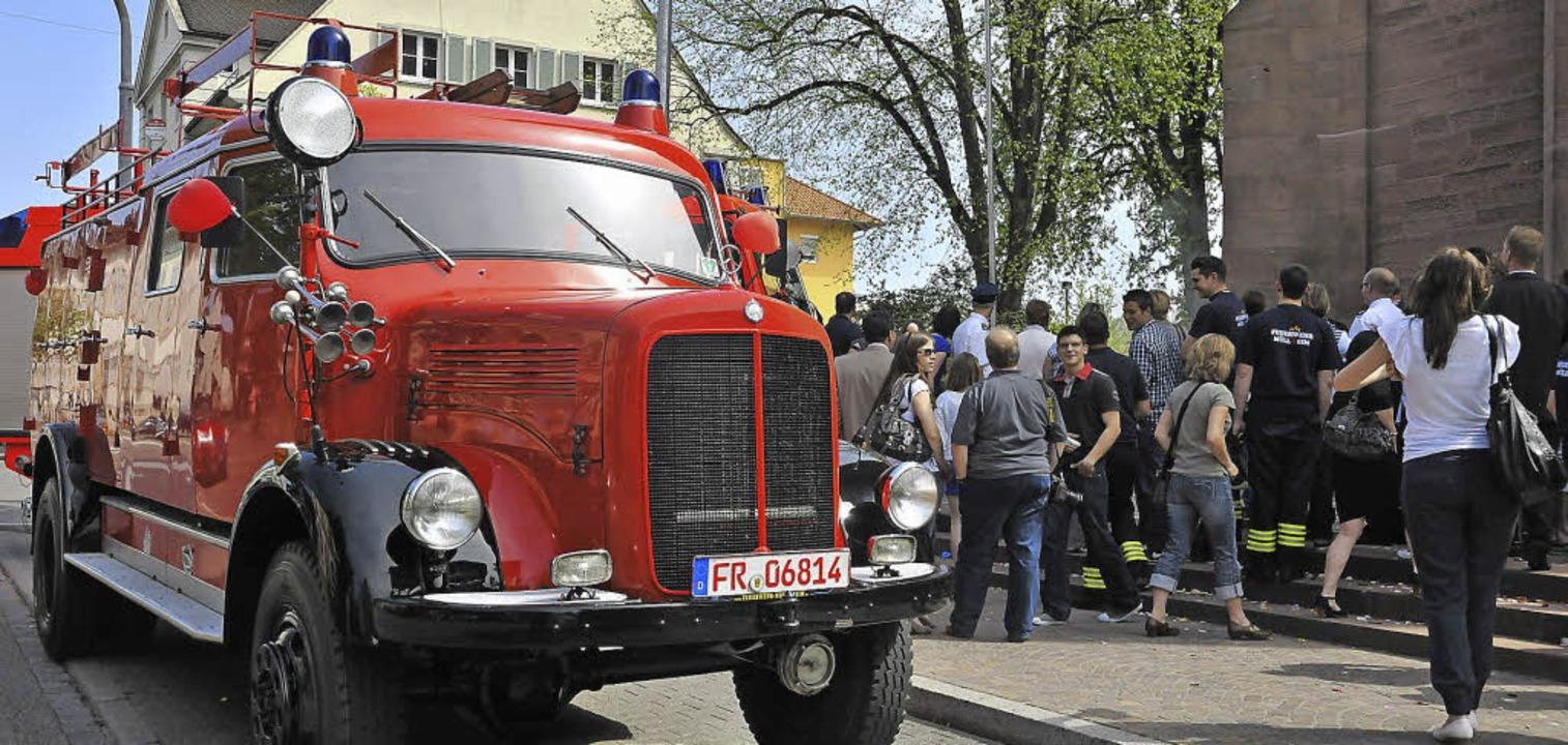 Dieses mehr als 55 Jahre alte Fahrzeug...sjahr der Öffentlichkeit vorgestellt.   | Foto: Volker Münch