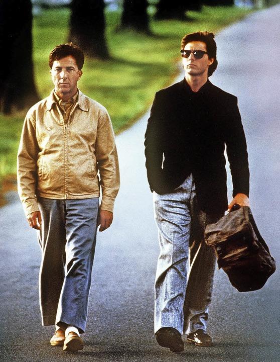 Der Film Rain Man aus dem Jahr 1988  m...ner breiteren Öffentlichkeit bekannt.   | Foto: dpa