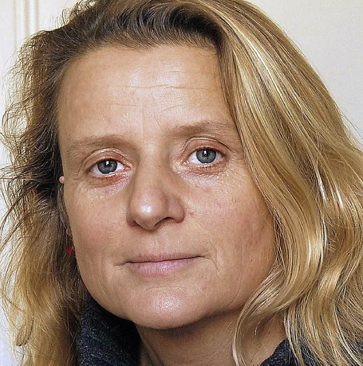 Freut sich über die Spende: Martina Kopf vom Lörracher Frauenhaus.  | Foto: Claudia Gabler