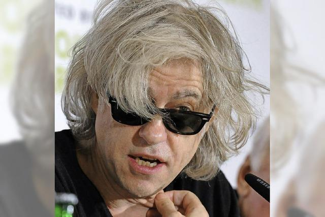 Bob Geldof singt in Lörrach