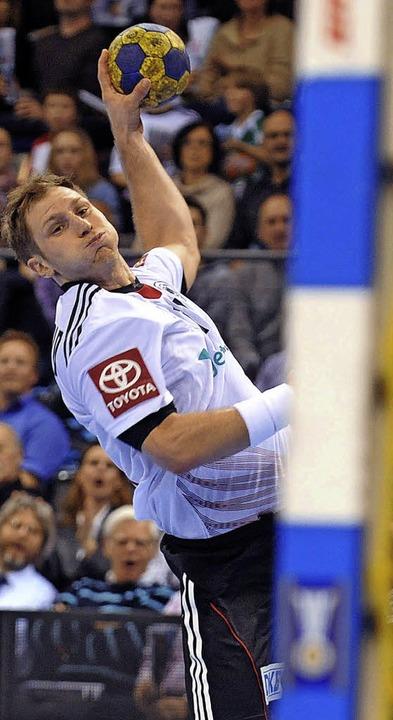Steffen Weinhold von der SG Flensburg-...deutschen Spielern von einem Topklub.   | Foto: Michael Heuberger