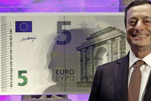 Der Euro hat ein neues Gesicht