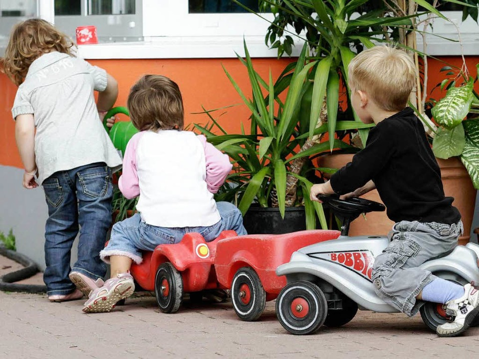 Kinder und ihre Eltern sind eine wichtige Zielgruppe der SPD.     Foto: DPA