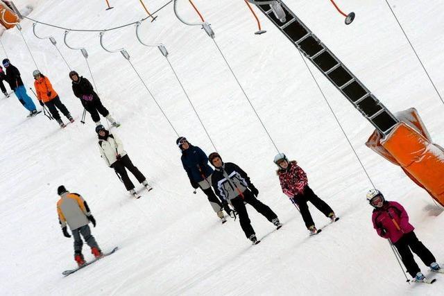 Liftbetreiber im Schwarzwald freuen sich über Neuschnee