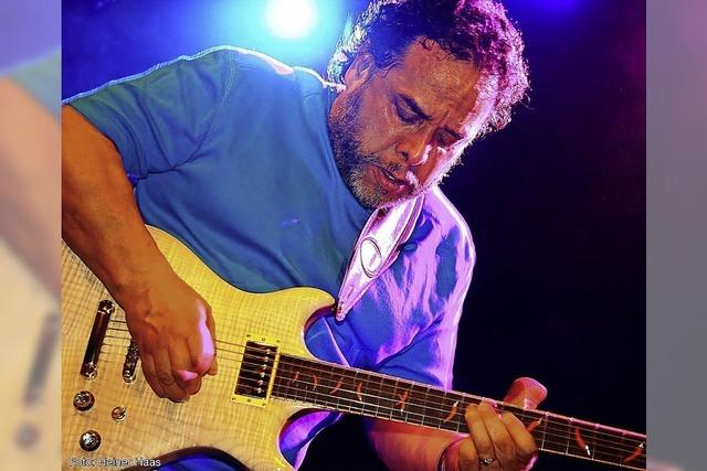 Tino Gonzales im Blue Notes in Lahr