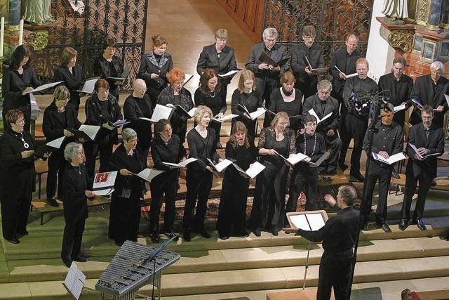 Klavier- und Chormusik des Kammerchors Offenburg