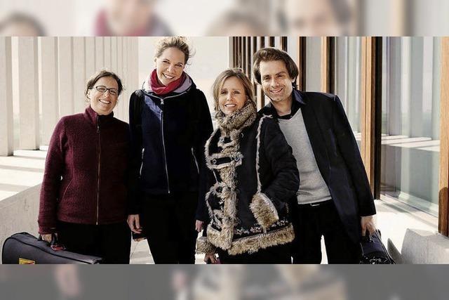 Salagon Quartett in in St.Cyriak in Sulzburg