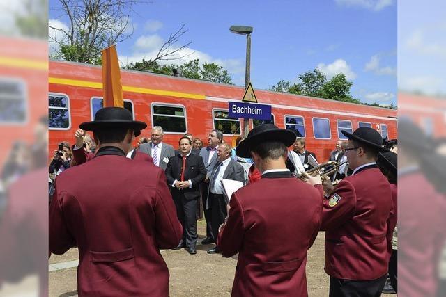 Der Zug in Bachheim ist abgefahren