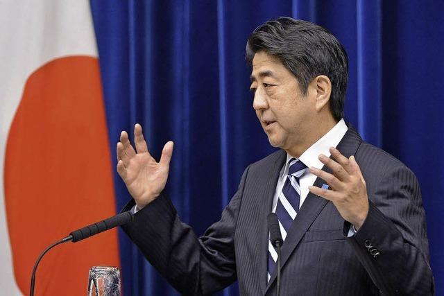 Tokio will den Aufschwung erkaufen