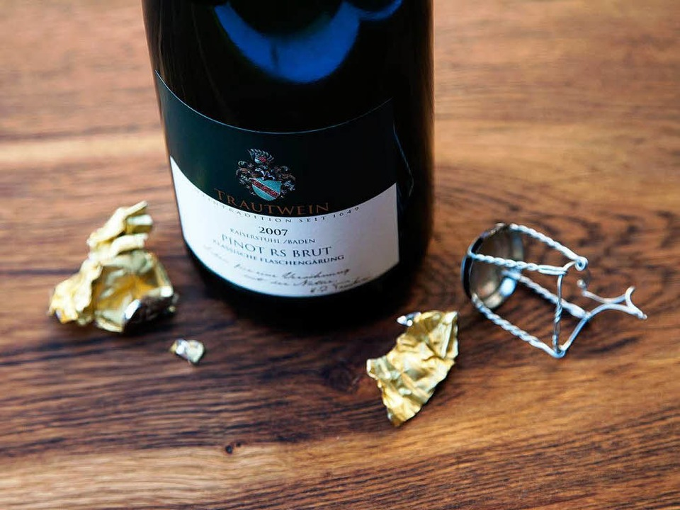 2007er Pinot Reserve Brut – Spitzensekt aus Bahlingen am Kaiserstuhl     | Foto: michael Wissing