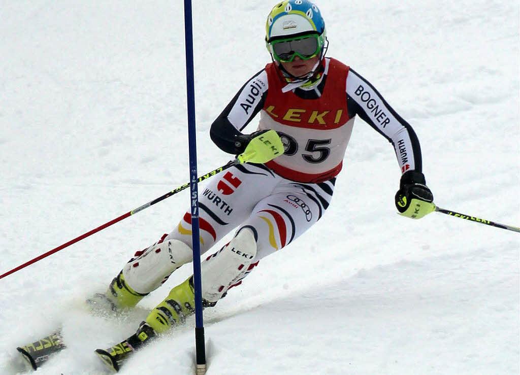 baur und rotkamm fahren zeitgleich zum slalomtitel ski alpin badische zeitung. Black Bedroom Furniture Sets. Home Design Ideas