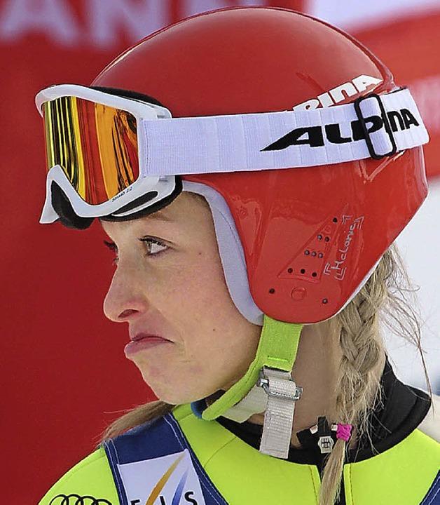 Ein Gesicht spricht Bände: Skispringer...ie Faißt war mit sich nicht zufrieden.  | Foto: Joachim Hahne