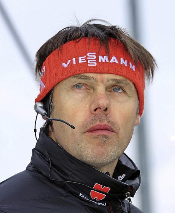 Bundestrainer Andreas Bauer sieht in seinem Team noch Steigerungspotential.  | Foto: Joachim Hahne