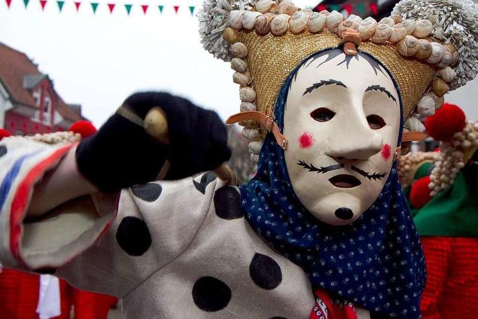 Die Elzacher Narrenzunft hat als Gastgeber für eine große Feier gesorgt. (Foto: Daniel Fleig)