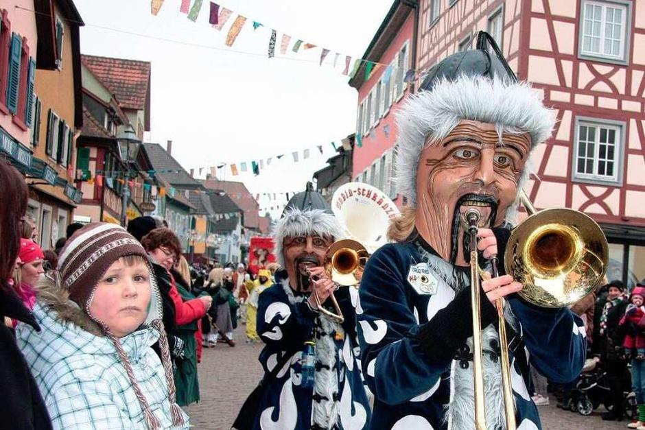 Das Narrentreffen in Ettenheim (Foto: Sandra Decoux-Kone)