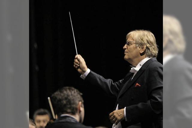 Justus Frantz kommt ins Konzerthaus