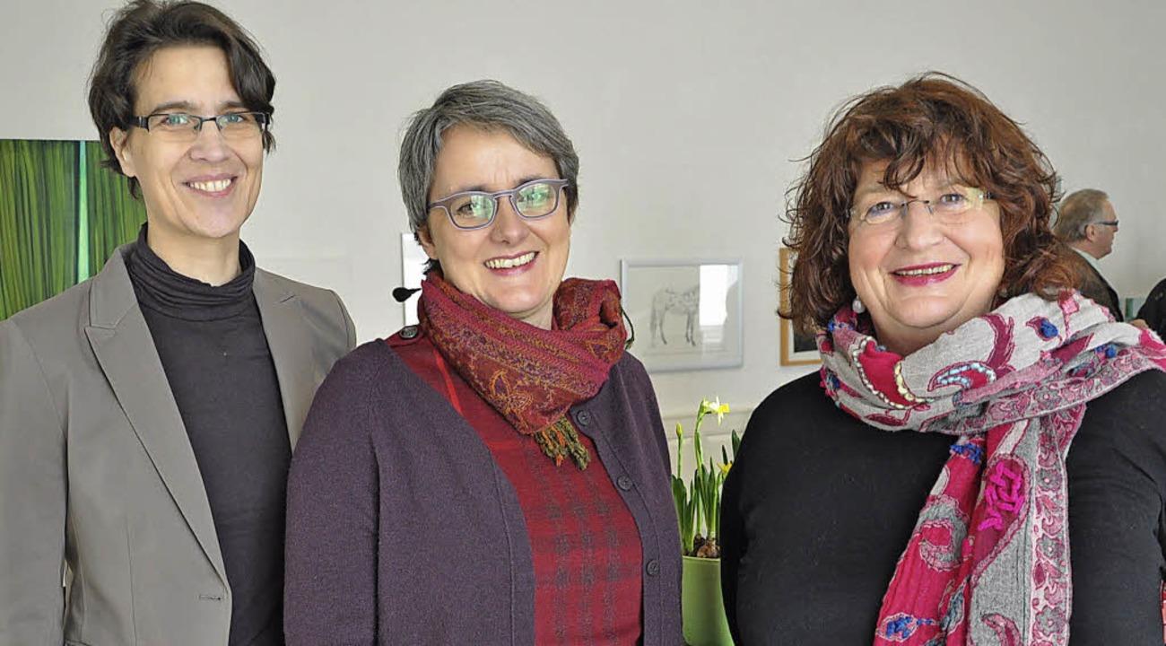 Bei den Grünen im Kreis geben die Frau...und Landtagsabgeordnete Bärbl Mielich   | Foto: Rainer Ruther