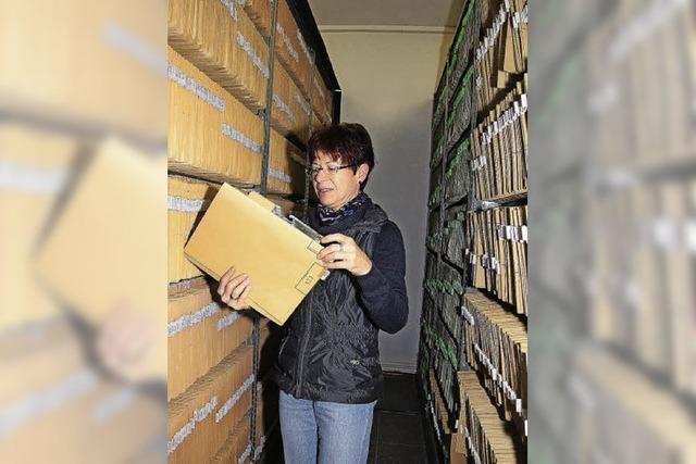 Grundbuchamt räumt das Archiv