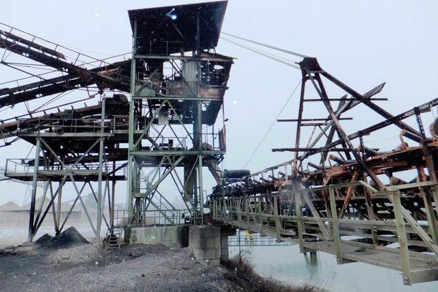 Brand im Kieswerk Ichenheim führt zu Millionenschaden