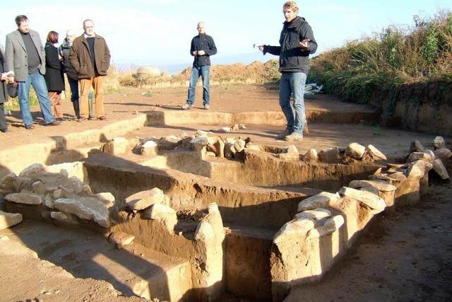 Archäologische Funde im Baugebiet – vier Monate Verzögerung