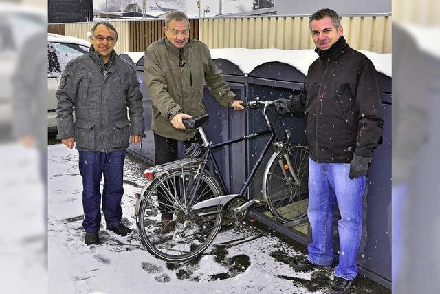 Räder sicher parken