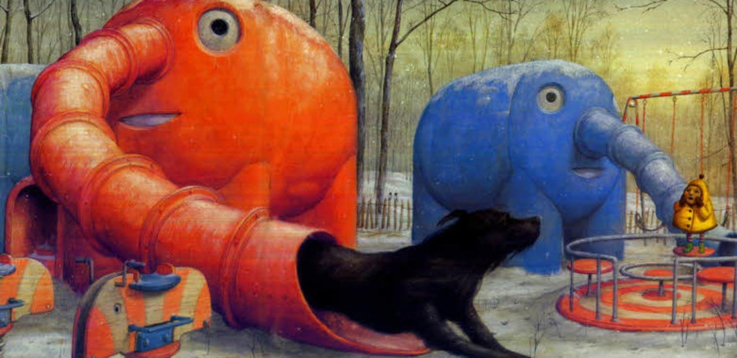 Großer Hund und mutiger Klein   | Foto: jacoby & Stuart