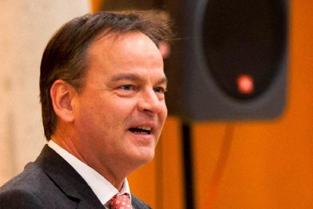 Landrat Frank Scherer lobt die Medien
