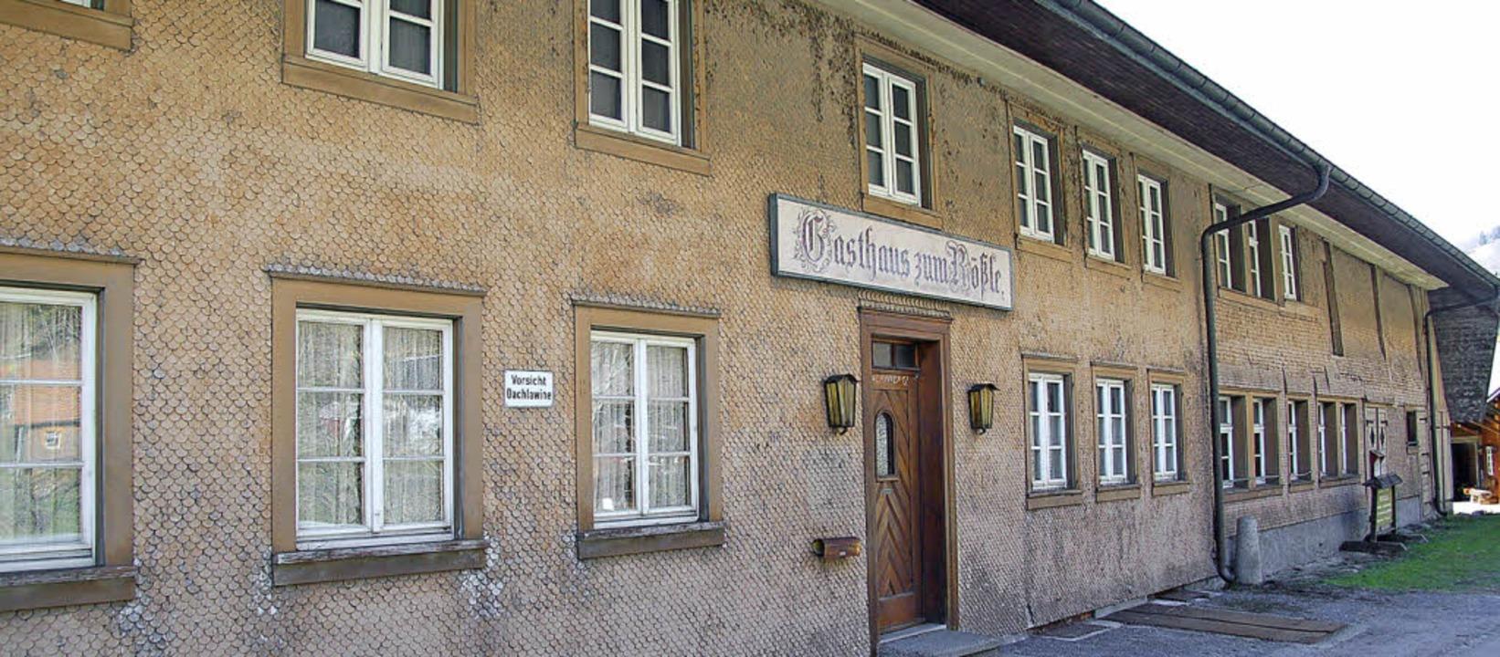 Das Gasthaus Rößle in Geschwend wird wieder eröffnet.   | Foto: Ulrike Jäger