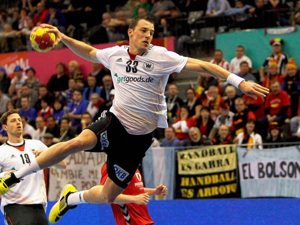 deutschland steht im achtelfinale der handball wm handball allgemein badische zeitung. Black Bedroom Furniture Sets. Home Design Ideas