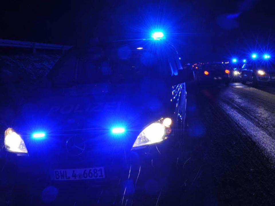 Blaulicht auf der L125  | Foto: dpa