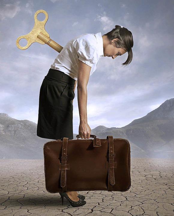 Viele haben Angst, die eigene  Zukunft nicht  in der  Hand zu haben.    Foto: fotolia.com/ alphaspirit