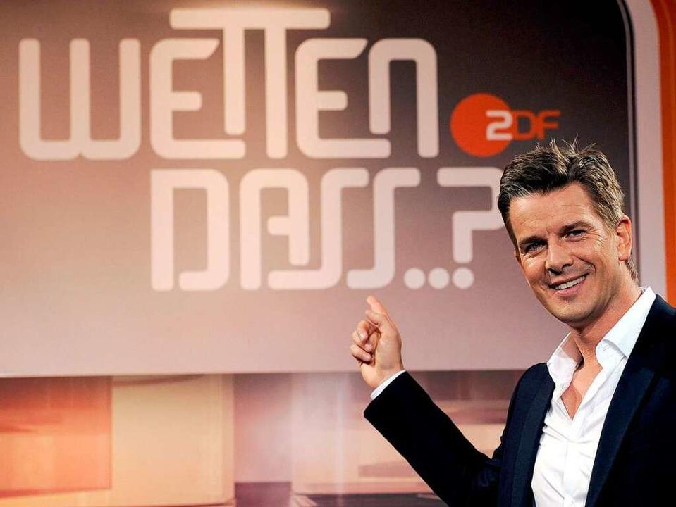 Moderator Markus Lanz  | Foto: dpa
