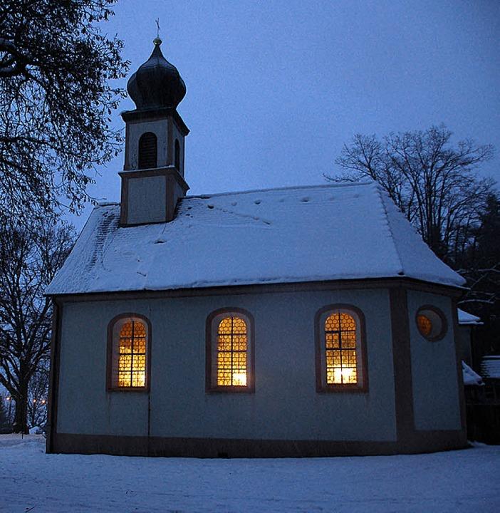 Die Giersbergkapelle ist der Gottesmutter geweiht.    Foto: Markus Donner